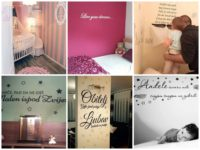 Citati na zidu – zanimljiv detalj i jedinstveno obilježje svakog doma
