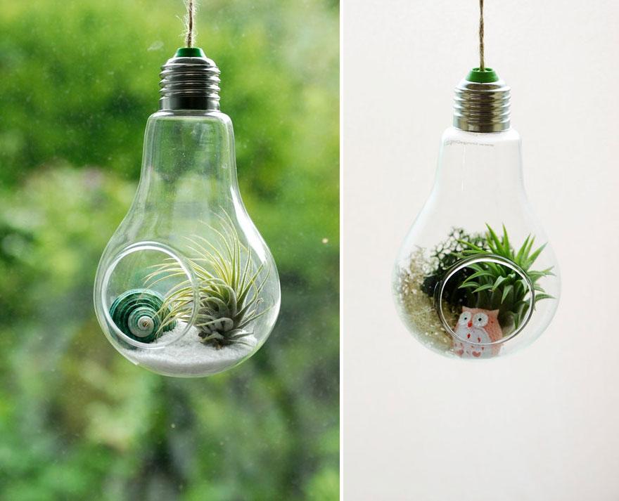 Poigrajte se sa starim žaruljama i napravite zgodne dekoracije