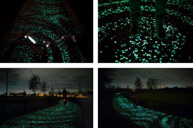 Svjetleća biciklistička staza u Poljskoj  MojStan.net
