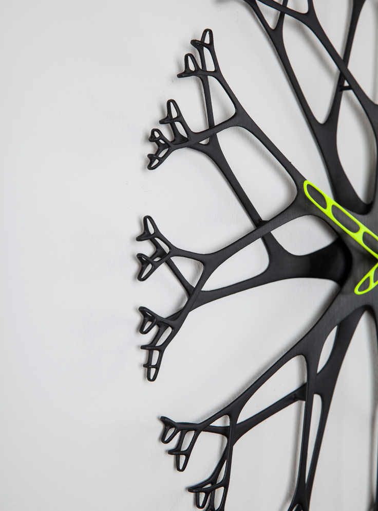 Twiggy 3D printani zidni sat  MojStan.net