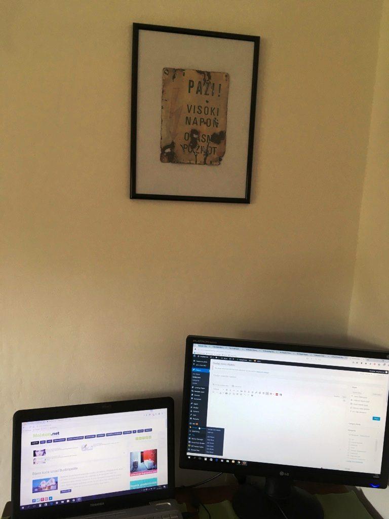 Kako je limena pločica iz potoka postala dekoracija na zidu  MojStan.net