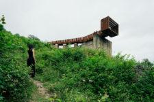 Vidikovac iznad napuštenog rudnika