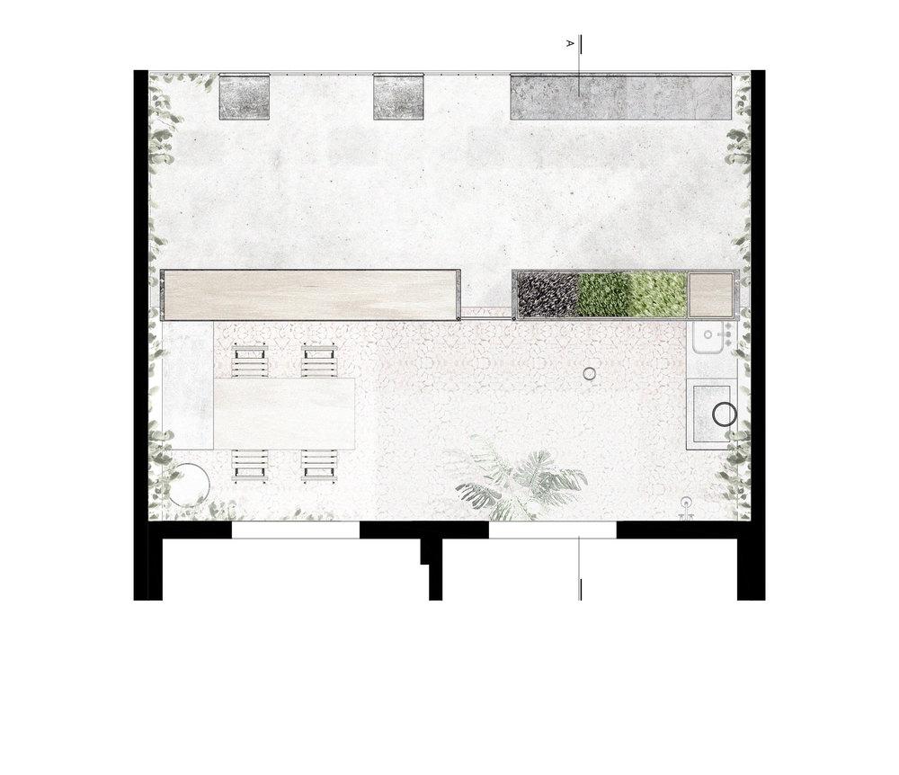 Terasa na krovu dograđenog djela kuće  MojStan.net