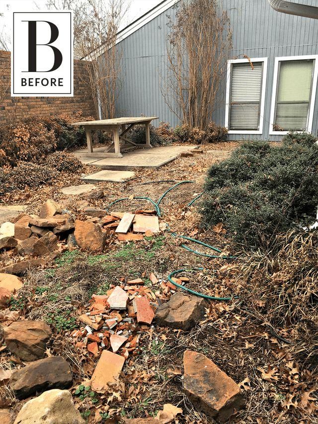 Novi izgled zapuštenog dvorišta