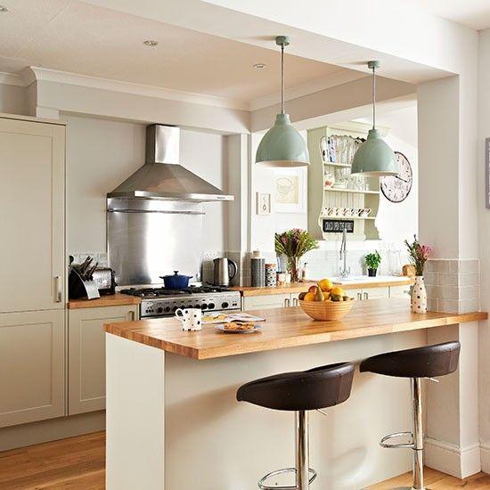 Kitchen Island Ideas For A Small Kitchen: 25 Primjera Uređenja Kuhinjskog Poluotoka Sa šankom