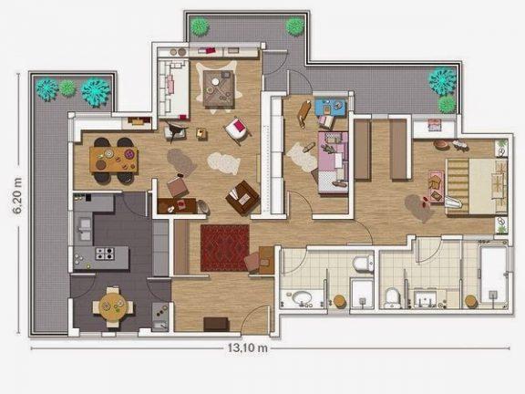 Novi stan u retro izdanju