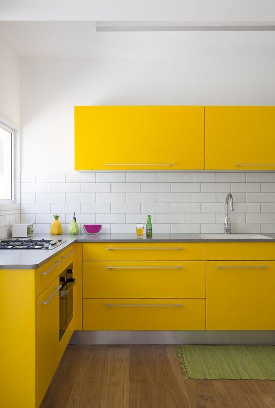 Kuhinja žute Boje Nekoliko Primjera Za Inspiraciju