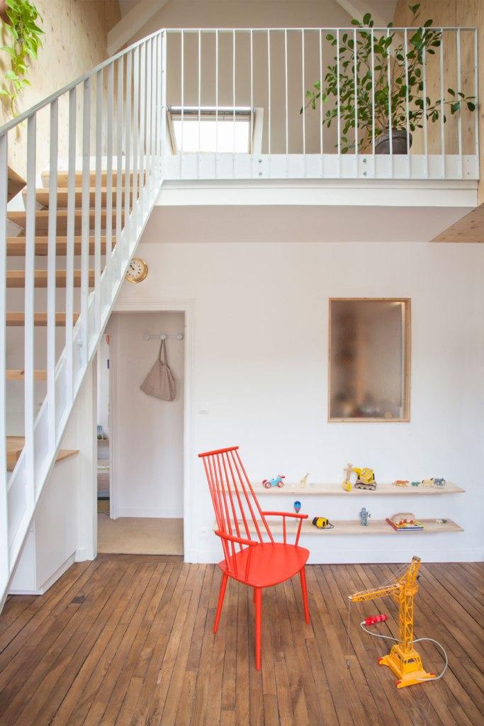 Visina potkrovlja iskorištena za uređenje dvoetažnog stana