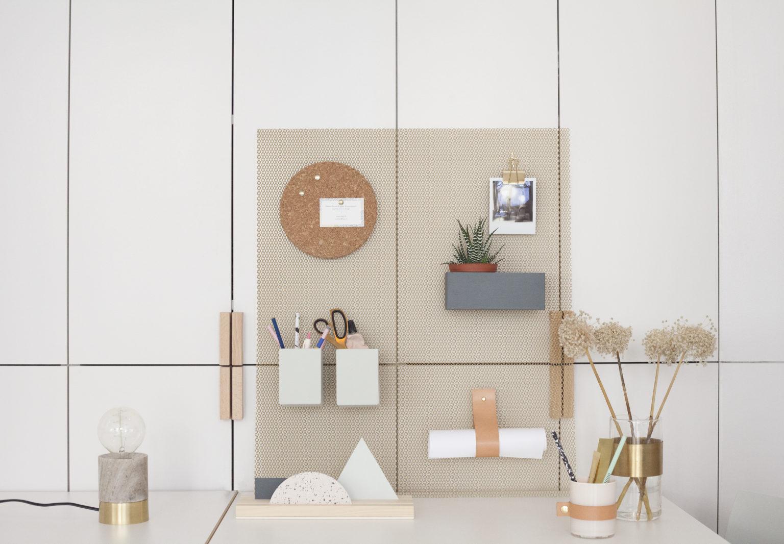 DIY - oslobodite prostor na radnom stolu prebacivanjem stvari na zid