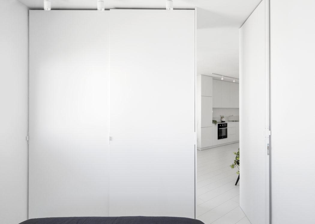 Izduženi stan površine 42 kvadrata
