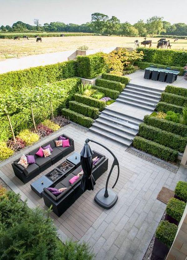 Stepenasto uređenje vrta