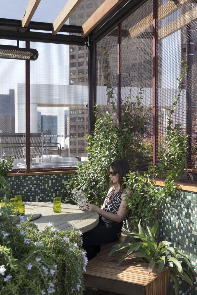 Zelena terasa na tridesetom katu