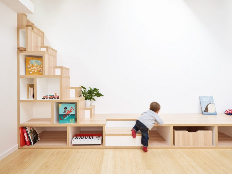 Umjetnikov studio preuređen u suvremeni obiteljski dom