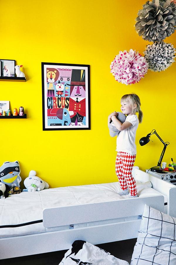 Dječja Spavaća Soba Sa žutim Zidovima Mojstan Net