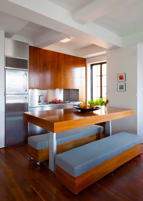 Ideje za ure enje kuhinje u malom prostoru Cocinas americanas en espacios pequenos