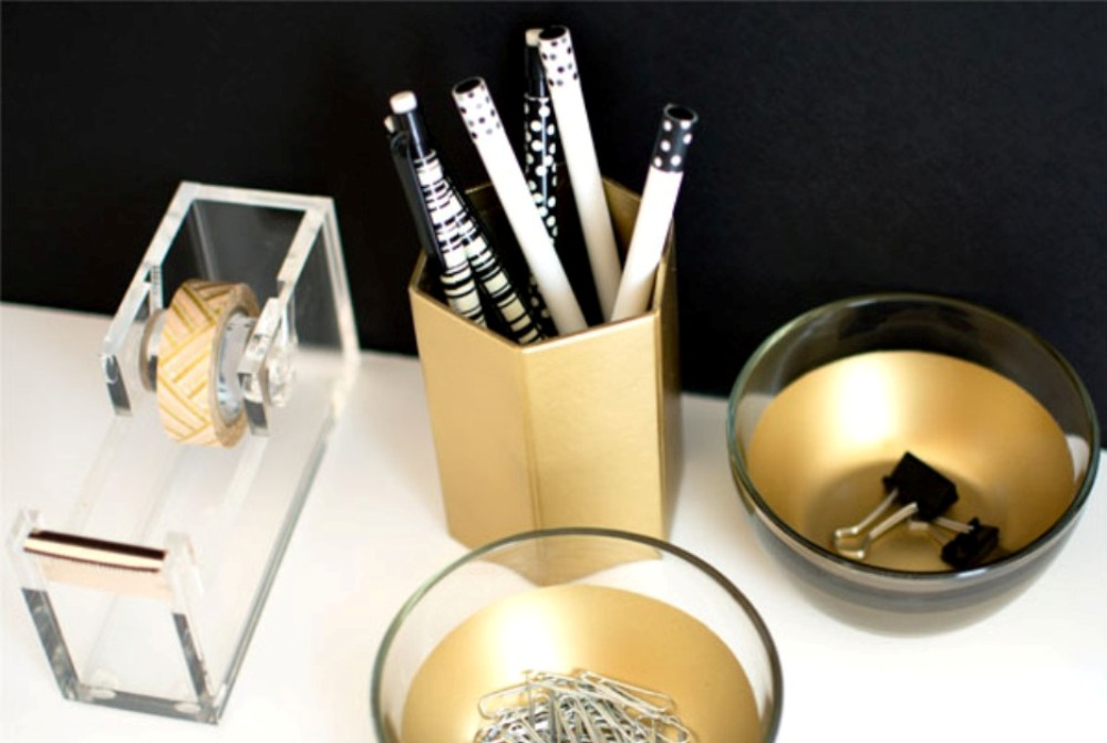 Gold-Desk-Dishes