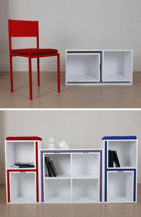 stol-i-stolice-u-policama-za-knjige-4