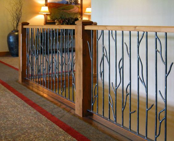 Wrought Iron Porch Railing Designs