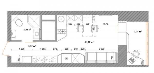 4 mala stana povr ine do 30 kvadrata. Black Bedroom Furniture Sets. Home Design Ideas