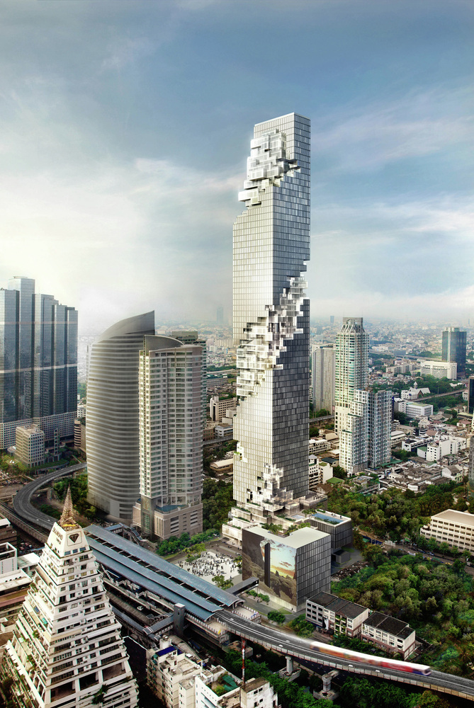 Gradnja nebodera MahaNakhon u završnoj fazi