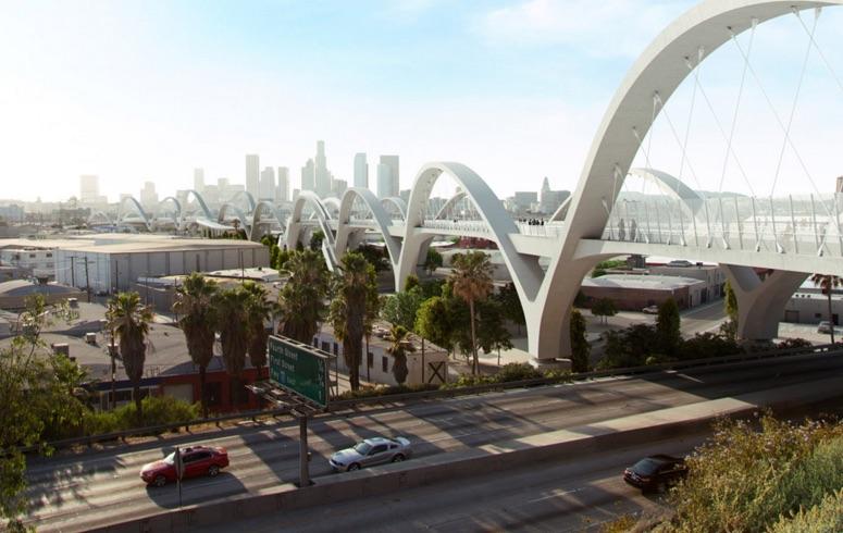 Predstavljen projekt novog lučnog mosta u LA-u