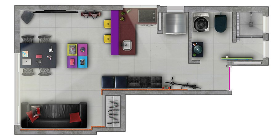 Holliday 711 by Mezzanine Arquitetura