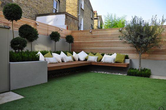 Terase i vrtovi sa umjetnom travom