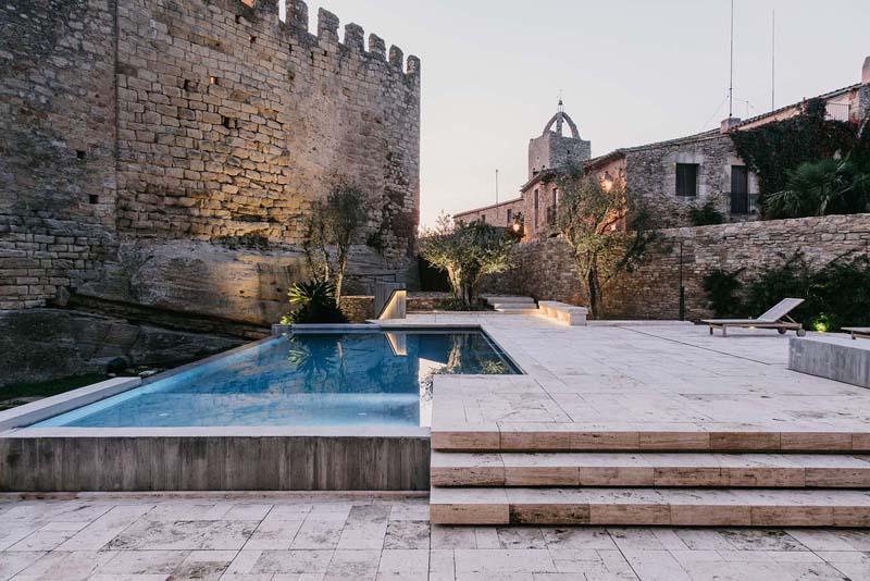 uređenje dvorišta dvorca