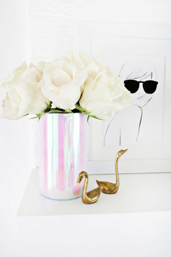 DIY - efektna hologramska vaza