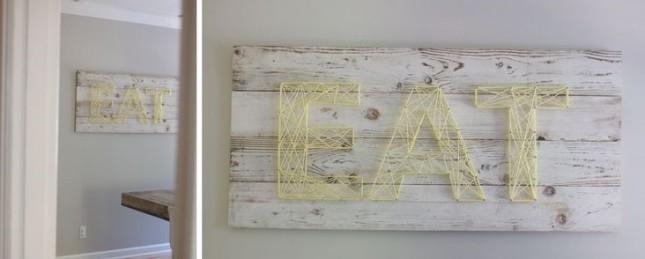 DIY - izradite jedinstvene dekoracije pomoću žice ili konca