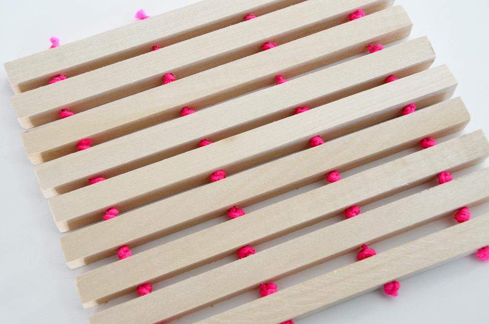 DIY - izradite drveni podložak za lonac