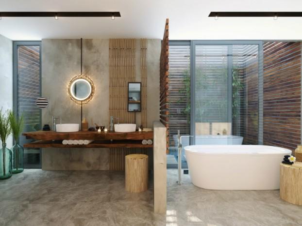 Kupaonica inspirirana prirodom