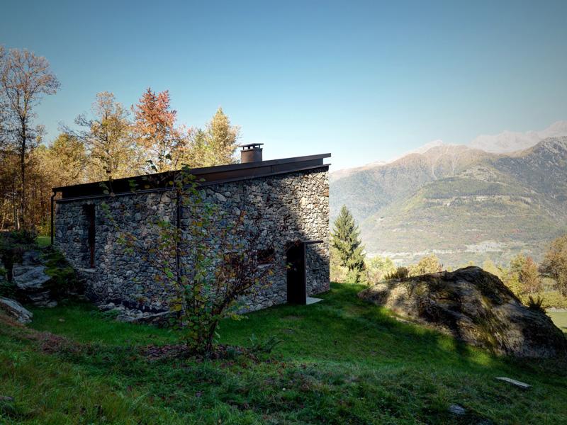 Planinska kuća u sjevernoj Italiji