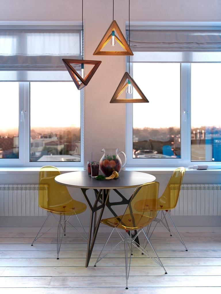 Prekrasan primjer uređenja stana od 30 kvadrata