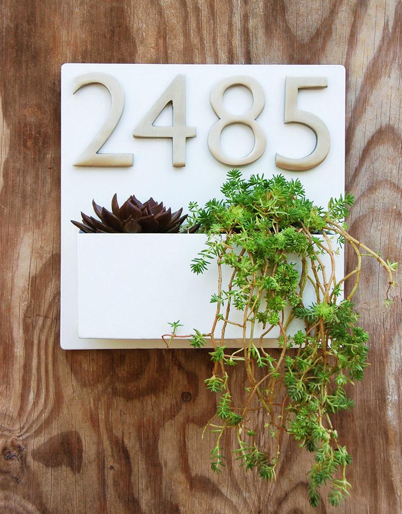 Kućni brojevi i cvijeće