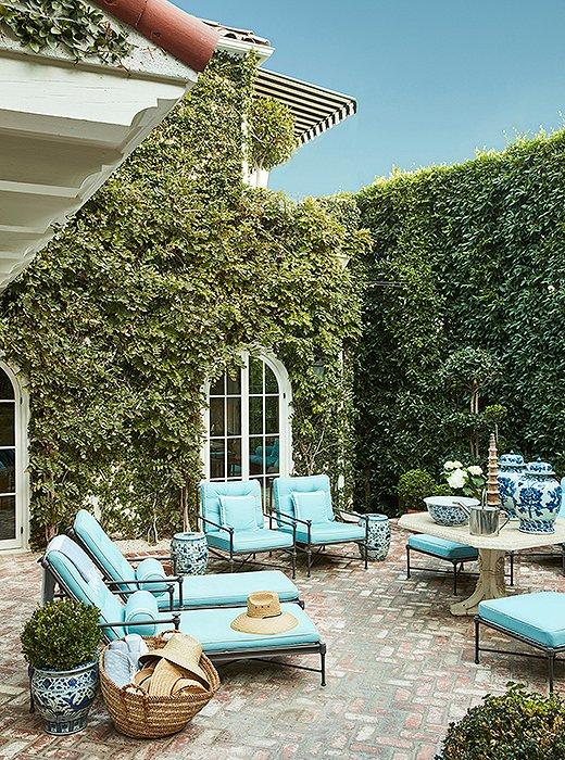 Interijer graciozne L. A. kuće Mark D. Sikes-a