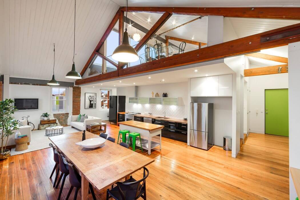 Još jedan industrijski prostor pretvoren u moderan stan