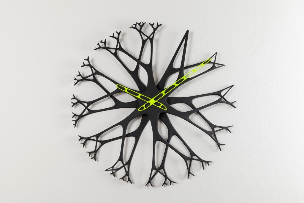 Twiggy 3D printani zidni sat
