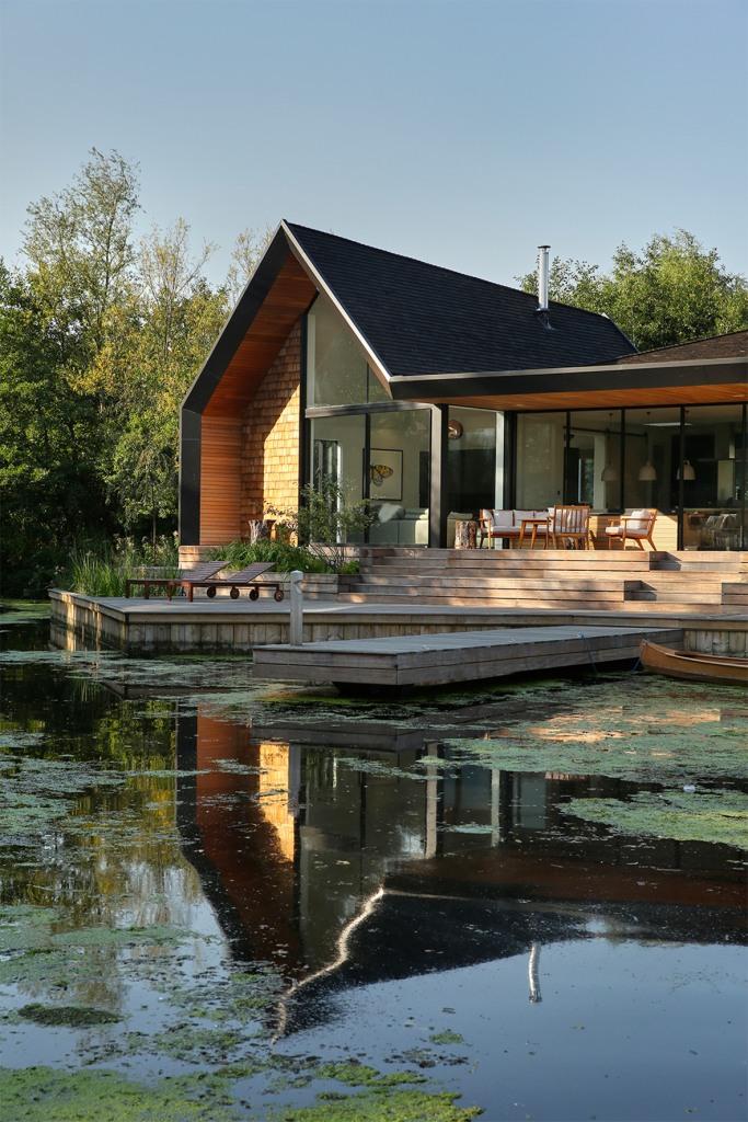 Kuća uz jezero by Platform 5 Architects