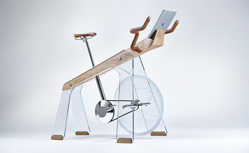 Sobni bicikl za vježbanje sa stilom