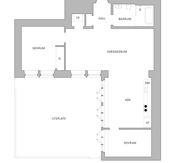 Mali stan sa velikom terasom