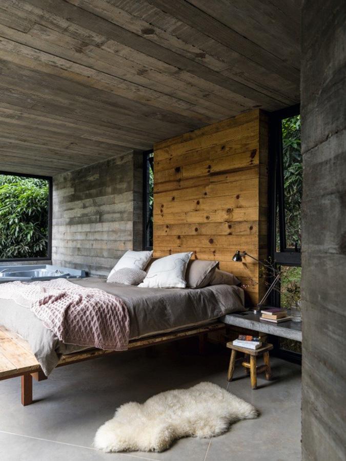 Betonska kuća dizajnerice Alessandre Clark
