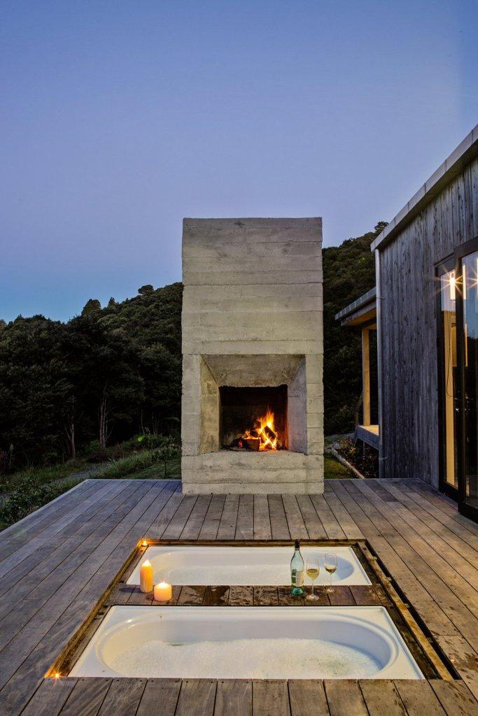 Moderna kuća u zelenilu Novog Zelanda