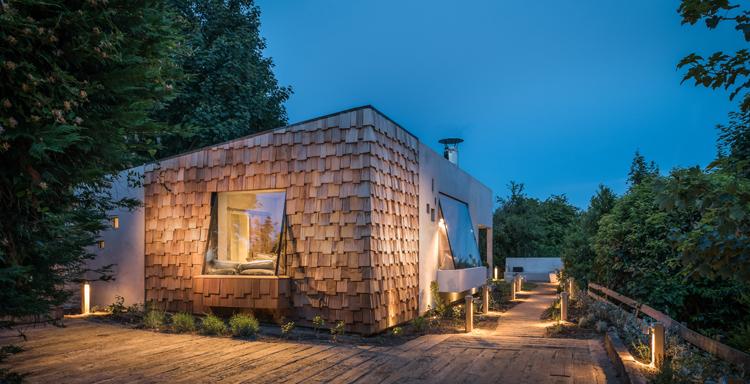 Mala kuća izgrađena za odmor