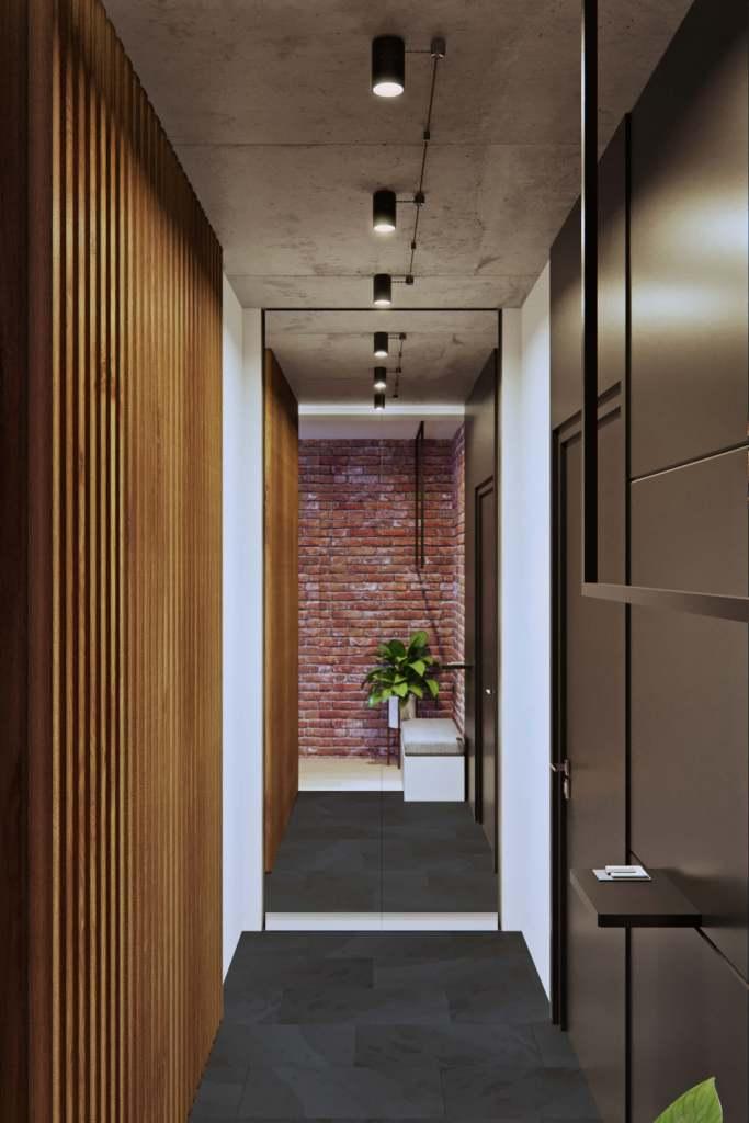 Neobičan raspored moderno uređenog stana