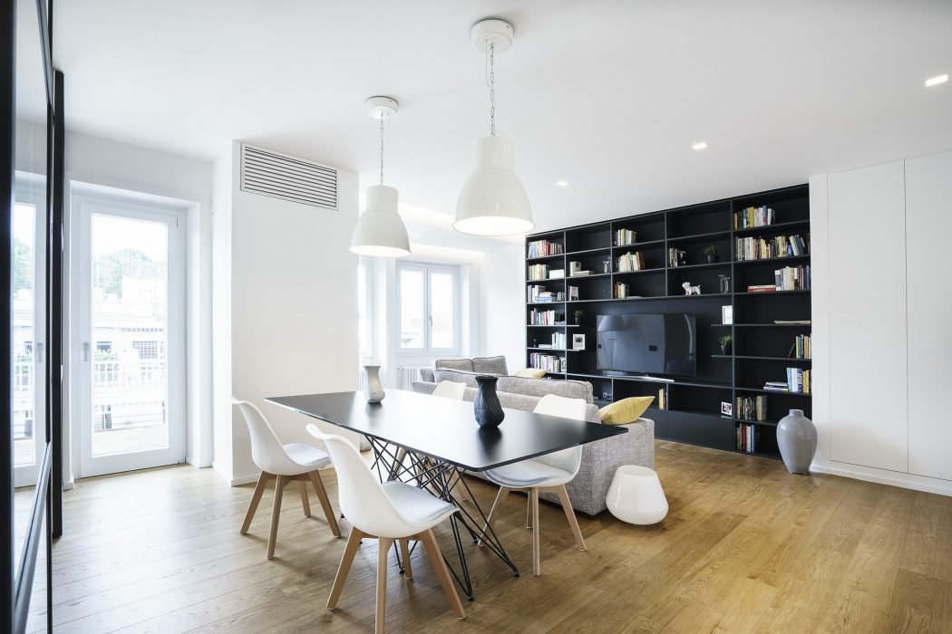 Stan sa poluotvorenim dnevnim prostorom