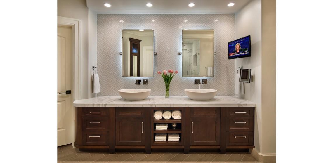 Nadgradni umivaonici - nekoliko ideja za opremanje kupaonice