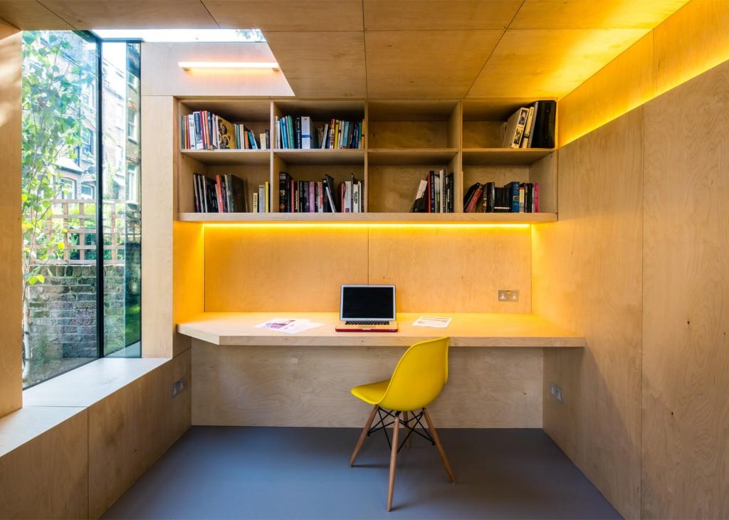 Ured u dvorištu - idealni prostori za rad od kuće