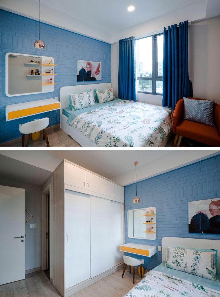 Žuto plavi stan za mamu i njenog sinčića