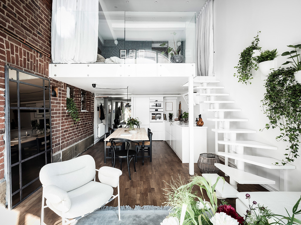 Stan u kojem je visina prostora iskorištena za dogradnju dodatnog prostora